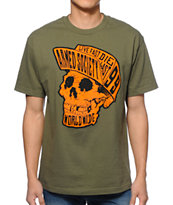 Metal Mulisha Pump Skull Tee Shirt