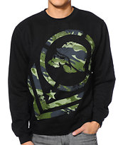 Metal Mulisha Sabotage Black Crew Neck Sweatshirt