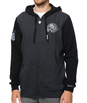 Metal Mulisha Scuffle Black Zip Up Hoodie