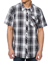 Metal Mulisha Stratored Plaid Button Up Shirt