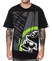 Metal Mulisha Title Black Tee Shirt