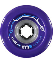 Metro Wheel Company Express 77mm Purple Longboard Wheels