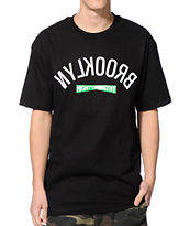 Mighty Healthy Brooklyn Black Tee Shirt