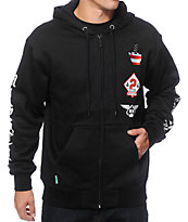 Mighty Healthy Club Zip Up Hoodie