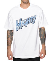 Mighty Healthy Indigo Palm Tee Shirt