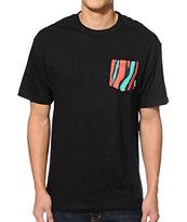 Mighty Healthy Low End Black Pocket Tee Shirt