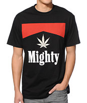 Mighty Healthy Stoge Black Tee Shirt