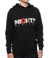 Mighty Healthy Watercolor Hoodie