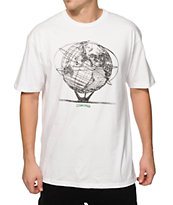 Mighty Healthy x Gino Iannucci Globe T-Shirt