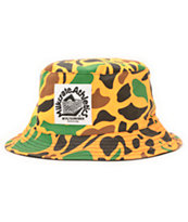 Milkcrate Orange Camo Bucket Hat