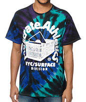 Milkcrate Purple Tie Dye T-Shirt
