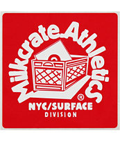Milkcrate Red Sticker
