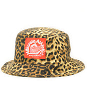 Milkcrate Safari Leopard Print Bucket Hat