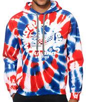 Milkcrate USA Tie Dye Hoodie