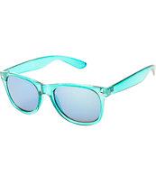 Mint Crystal Classic Sunglasses
