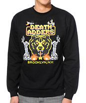 Mishka 8-Bit Adder Black Crew Neck Sweatshirt