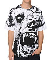 Mishka Beast Of The East White Tee Shirt