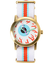 Mishka Keep Scout Gold & White Analog Watch
