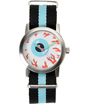Mishka Keep Scout Silver & Blue Analog Watch