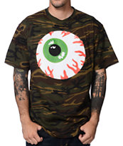 Mishka Keep Watch Camo Print Tee Shirt
