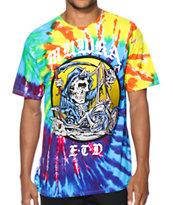 Mishka Lamour Hard Rider Tie Dye T-Shirt