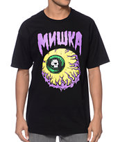 Mishka Lamour Keep Watch 2 Black Tee Shirt