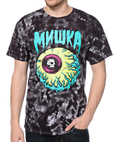 Mishka Lamour Keep Watch 2 Black Tie Dye Tee Shirt