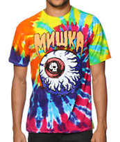 Mishka Lamour Keep Watch 2 Tie Dye Tee Shirt