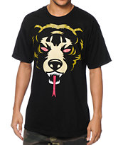Mishka Oversized Death Adder Black Tee Shirt