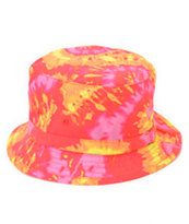 Mishka Sunset Tie Dye Bucket Hat