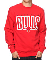 Mitchell and Ness Chicago Bulls Retro Crew Neck Sweatshirt