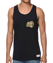 Mitchell and Ness NBA Clippers Black & Gold Tank Top