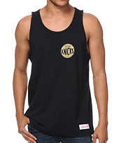 Mitchell and Ness NBA Knicks Black & Gold Tank Top