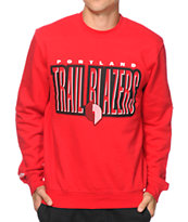 Mitchell and Ness Portland Trail Blazers Crew Neck Sweatshirt