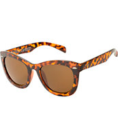 Molly Tortoise Shell Oversized Sunglasses