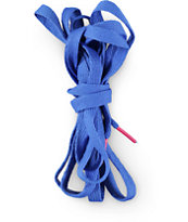 Mr. Lacy Flatties Royal Blue & Neon Pink Shoe Laces
