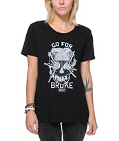 Muscat Go For Broke Black Tee Shirt