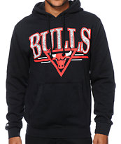NBA Mitchell & Ness Bulls Abstract Vibes Hoodie
