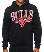 NBA Mitchell & Ness Bulls Abstract Vibes Hoodie