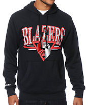 NBA Mitchell & Ness Trail Blazers Abstract Vibes Hoodie