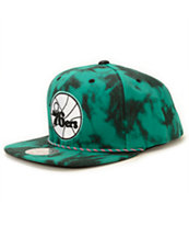NBA Mitchell and Ness 76ers Greenback Strapback Hat