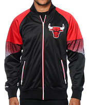 NBA Mitchell and Ness Bulls Court Vision Track Jacket
