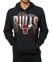 NBA Mitchell and Ness Bulls Dot Hoodie