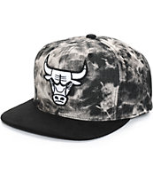 NBA Mitchell and Ness Bulls Dyed Snapback Hat