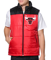 NBA Mitchell and Ness Bulls Red Vest