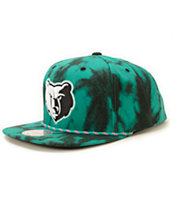 NBA Mitchell and Ness Grizzlies Greenback Strapback Hat