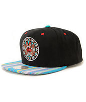 NBA Mitchell and Ness Grizzlies Native Stripe Snapback Hat