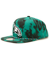 NBA Mitchell and Ness Hawks Greenback Strapback Hat