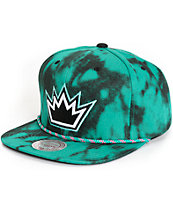NBA Mitchell and Ness Kings Greenback Snapback Hat