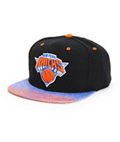 NBA Mitchell and Ness Knicks Court Vision Snapback Hat